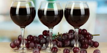 Wine of cherries. The recipe is built in place! Very delicious!!!