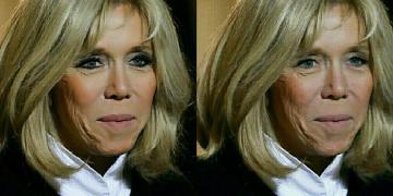 Brigitte Macron without makeup: how would look, if not beautiful (photo)
