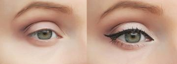 Eye makeup every day for 10 minutes: a step by step tutorial with examples shadows