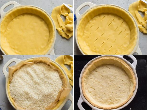 How to cook shortbread dough by hand without the combine (blender). Photos - Yandex. Images