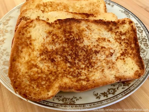 Crispy golden crust and is characterized for the perfect toast